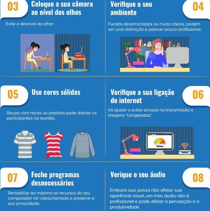 10 dicas para melhorar a sua videoconferência