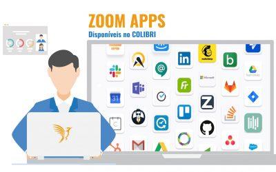 Colibri passa a permitir a utilização de Zoom Apps